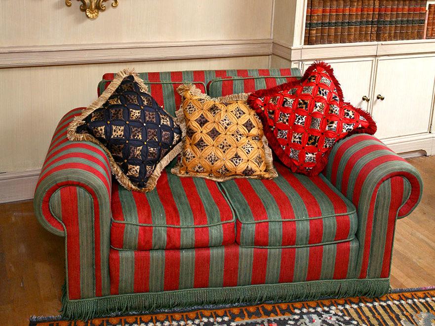 Cushions; Interiors; Interior design; Soft furnishings; Soft furnishing designer; Soft furnishings design