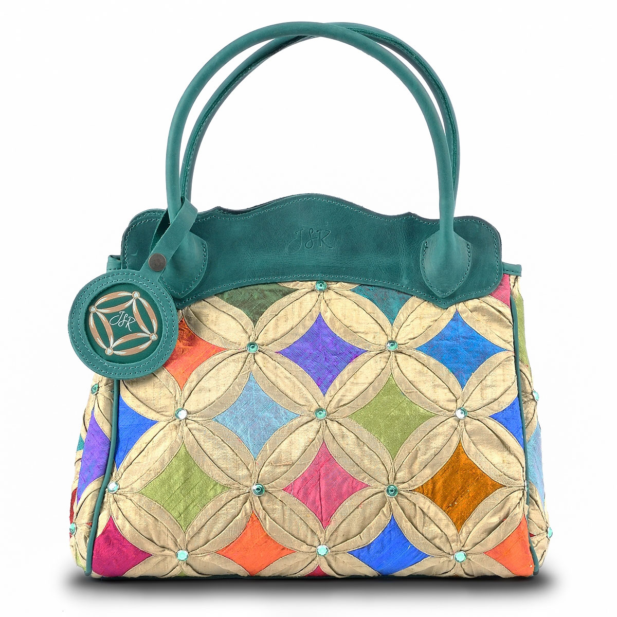 Green Jewel Handbag