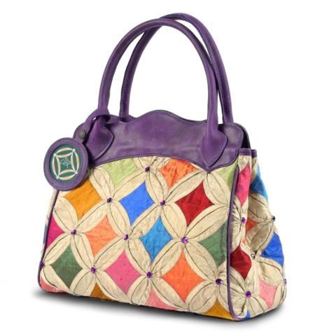 Purple Jewel handbag