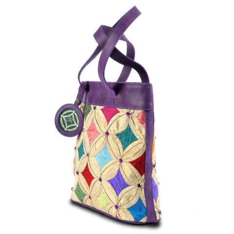 Purple Jewel tote bag