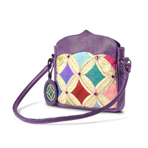 Purple Jewel shoulder bag