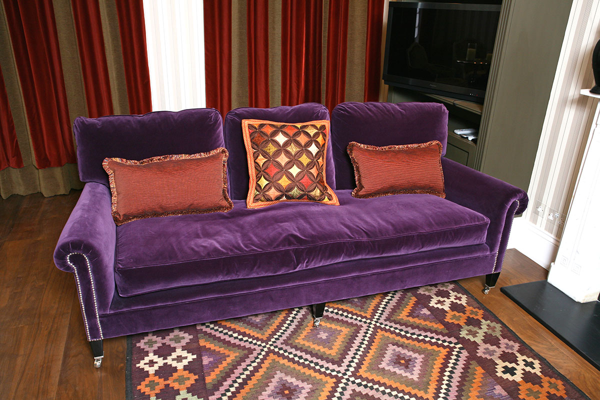 Upholstery; recover sofas; supply sofas; armchairs; re-cover; Interiors; Interior design; Soft furnishings; Soft furnishing designer; Soft furnishings design