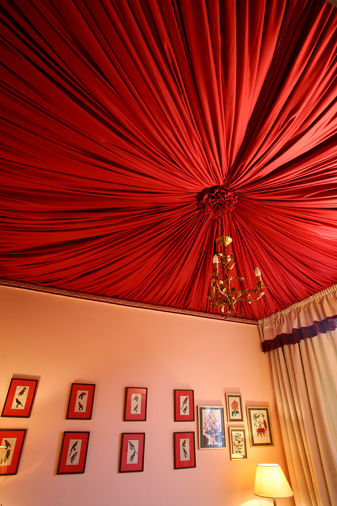 Interiors; Interior design; Soft furnishings; Soft furnishing designer; Soft furnishings design; tented ceiling, French pleats; Measure and Fit; bespoke