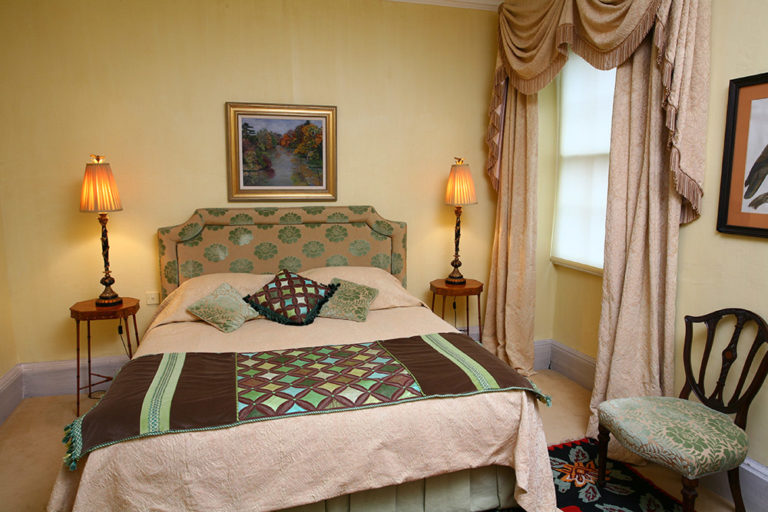 Curtains; Curtain design; Handmade curtains; Bespoke curtains; Gathered Pelmets; Draped pelmets: Swags and Tails; Headboards; Bed valances; Bedspreads;