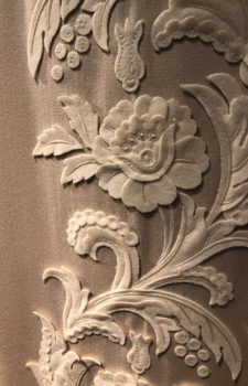 Curtain Border detailed closeup image